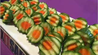 getlinkyoutube.com-Carrot inside a cucumber kitchen hack!