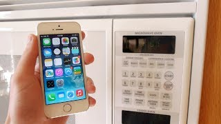 getlinkyoutube.com-Charge your iPhone 5S in 3 Seconds! (Microwave)