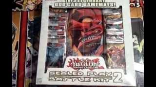 getlinkyoutube.com-Let's Open! Yugioh War of the Giants Battle Kit (Slifer the Sky Dragon)