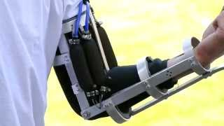 getlinkyoutube.com-Real Iron Man Prototype Arm, Powered Exoskeleton