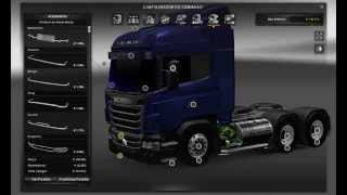 getlinkyoutube.com-Euro Truck Simulator 2 - Scania R Highline