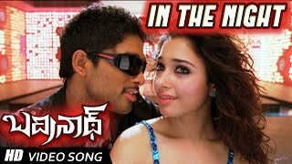 getlinkyoutube.com-In the Night Full Video Song   Badrinath Movie   Allu Arjun, tamanna