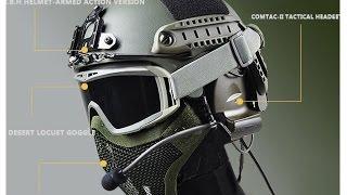 getlinkyoutube.com-How to cut an airsoft mesh mask