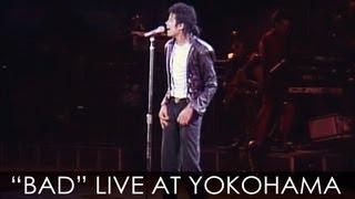 "getlinkyoutube.com-Michael Jackson - ""BAD"" live Bad Tour in Yokohama 1987 - Enhanced - High Definition"