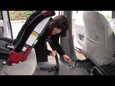 Using Top Tether with a Rear-facing Diono car seat