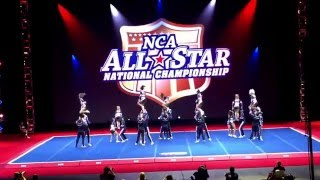 getlinkyoutube.com-Cheer Athletics Wildcats - NCA 2016