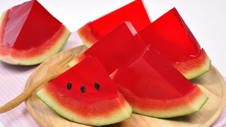 getlinkyoutube.com-วุ้นแตงโม Watermelon Jelly