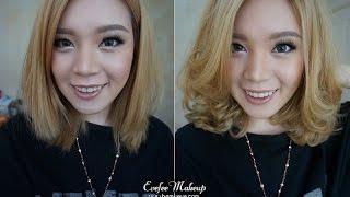 getlinkyoutube.com-How to : Easy curl for short hair ม้วนผมง่ายๆสำหรับผมสั้น