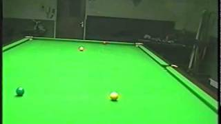 The basic hitting of snookers