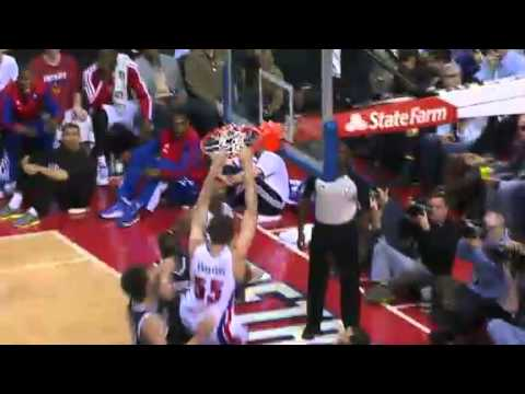 Nice Dunk | Nets vs Pistons  | Feb 6th, 2013