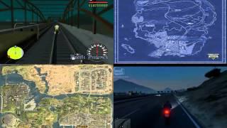 getlinkyoutube.com-¿Que mapa es mas grande? ¿El de GTA San Andreas o el de GTA 5?
