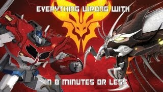 getlinkyoutube.com-Everything Wrong With Predacons Rising in 8 Minutes or Less (CinemaSins Parody)