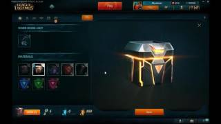 getlinkyoutube.com-[7/19 PBE]  New Hextech Crafting Components - Caches, PROJECT Cores, blueprints