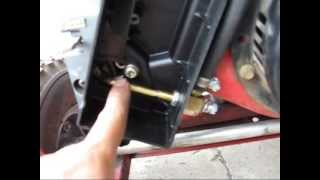 getlinkyoutube.com-Generac 4000EXL propane conversion spud in through air cleaner