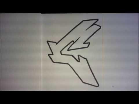 GRAFFITI ALPHABET N°1 // Lettre par lettre graff pour débutants ou intermedaire (simple letters)