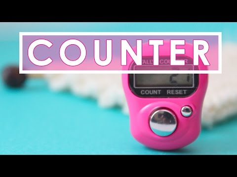 Digital Row Counter | KNITTING TOOLS