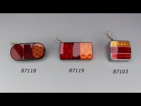 Светодиодные фонари для прицепов