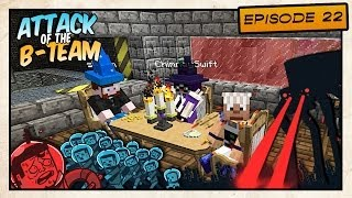 "getlinkyoutube.com-Minecraft - Attack of the B-Team! - ""Friendly"" Dinner - E22"