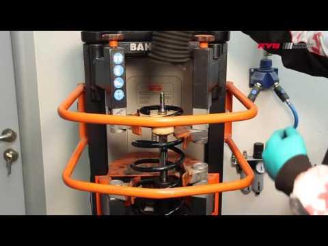 ALFA ROMEO MiTo - FRONT - Передние амортизаторы KYB установка