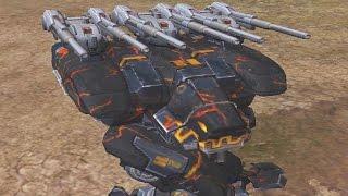 War Robots [2.8] Test Server - NEW Heavy Machine Gun Weapon Preview