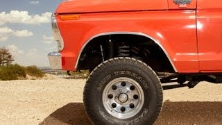 getlinkyoutube.com-1978 Ford Bronco Ranger: Frame-up Restoration
