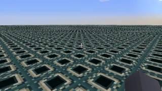 getlinkyoutube.com-マインクラフト スーパーフラットの生成例