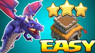 getlinkyoutube.com-How To Dragon Attack TH8 Guide in 2017 | Easy 3 Star Dragloon Attack Strategy | Clash of Clans