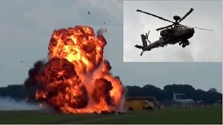 getlinkyoutube.com-🇺🇸 Mean Machine WAH-64D Apache Helicopter Pyrotechnic Display.