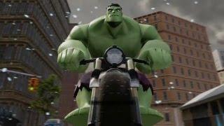 getlinkyoutube.com-Disney Infinity 2.0 - Marvel Super Heroes - The Hulk (Level 20 Character Showcase)