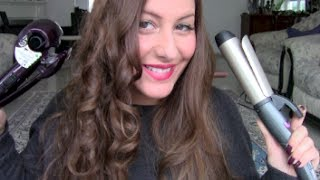 getlinkyoutube.com-Locken & Beach Waves Babyliss Curl Secret & Remingston Pro Soft Curls + Outtakes