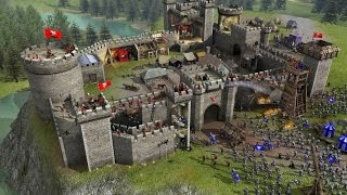 getlinkyoutube.com-Симулятор строителя замков! Stronghold Crusader 2