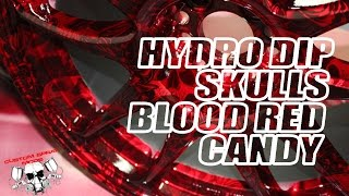 getlinkyoutube.com-Hydrodipping Blood Red Candy & Hydro Graphic Skulls