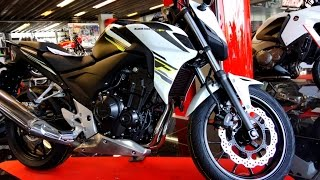 getlinkyoutube.com-HONDA CB 500 F mod. 2015 Photos (Watch in 4k)
