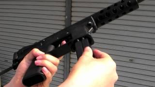 getlinkyoutube.com-Maruzen KG-9(TEC-9) GBB airsoft gun マルゼン KG9 ガスブロ