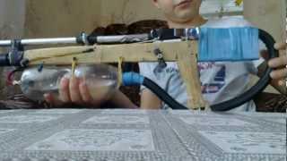 getlinkyoutube.com-(№1) Как сделать пневматическую винтовку!! (how to make a pneumatic!!)
