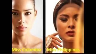 getlinkyoutube.com-Miss Universe 2016 Miss Colombia versus Miss Philippines . Cual es tu favorita?