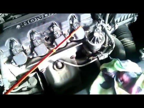 Где фильтр акпп у Honda Цивик 5Д