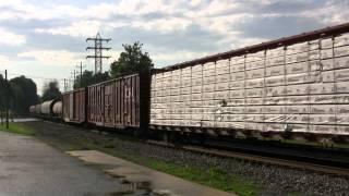 getlinkyoutube.com-Trains of the Norfolk Southern Harrisburg Line Fall 2009