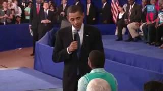 "getlinkyoutube.com-Child Asks Obama:""Why Do People Hate You?"""