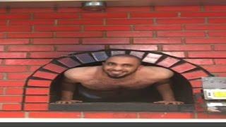 getlinkyoutube.com-جرية عبودي باد في هايبر بنده l يتروش + يدخل في فرن الخبز + طرحه