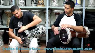 The Biggest Pearl Dohola Darbuka You Will Ever See! Online Darbuka Shop