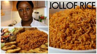 How To Cook Jollof Rice | Ivonne Ajayi