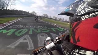 getlinkyoutube.com-Nürburgring Nordschleife KTM 690 Smc-R im Doppelpack    Insane Riders    RAW #12