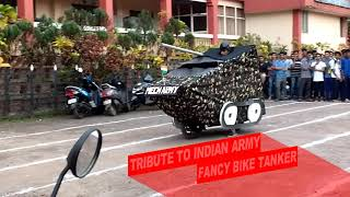 FANCY BIKE EVENT IN KVG ENGINEERING COLLEGE, SULLIA (Must watch-Royal Mech)