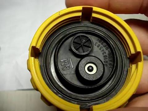 Ремонт крышки расширительного бачка C14NZ Repair of the expansion tank cap