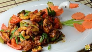 Spicy Cashew Chicken Stir Fry..