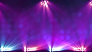 Stage Lights Purple Scrolling HD Looping Background by Motion Worship