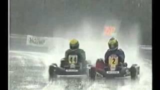 LEWIS HAMILTON - Karting - Larkhall 1998 Awensome!.avi