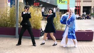 getlinkyoutube.com-[Dance cover] Gugure! Kokkuri-san - Welcome DISCOけもけもけ!!