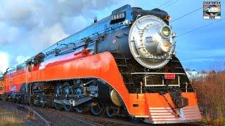 getlinkyoutube.com-Steam Trains and Music! Morning Mood: Grieg